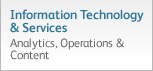 Information Technology and Services