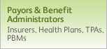 Payors and Benefit Administrators