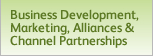 Business Development, Marketing, Alliances and Channel Partnerships